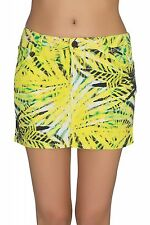 NEW Lee Mini skirt Rock Ladies Mini skirt Summer skirt Yellow L309FRGZ