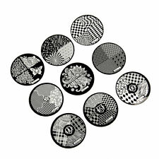 Fashion DIY Nail Art Image Stamp Stamping Plates Manicure Template 9 Styles O7