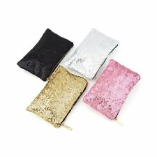Glitter Sparkling Sequins Dazzling Clutch Evening Party Bag Handbag Purse O7