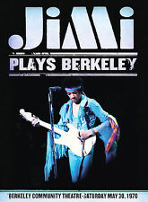 JIMI HENDRIX PLAYS BERKELEY BRAND NEW FACTORY SEALED DVD FREE SHIPPING