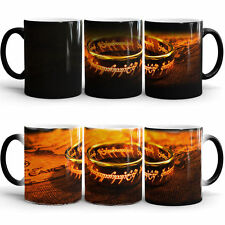 LORD OF THE RINGS TRILOGY MAGIC COLOR CHANGING COFFEE MUG TEA CUP GIFT