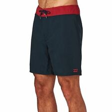 Billabong Board Shorts - Billabong All Day Og Cut Board Shorts - Navy/red