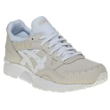 New Womens Asics White Gel-Lyte V Leather Trainers Animal Lace Up