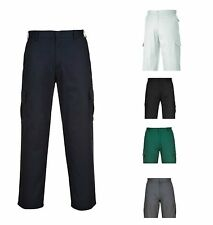 Portwest Action Combat Cargo Workwear Pre Shrunk Kingsmill Fabric Trousers