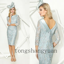 Lace Applique Mother Of The Bride Dresses For Lady Wedding Formal Gowns 2017 New