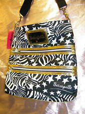 BETSEY JOHNSON - BETSEYVILLE * Small Travel Bag * Striped Up - Discontinued