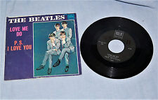 BEATLES Love Me Do / P.S. I Love You - Tollie 45RPM with Picture Sleeve - NICE!