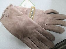NWT Misses Size XL  Gloves by Isotoner Brown OR Light Brown Microluxe Lining