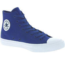 NEU Converse All Star Chuck Taylor II Hi Shoes Trainers Blue 150146C