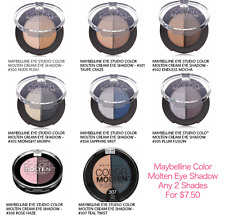 Maybelline Eye Studio Color Molten Cream Eye Shadow - Any 2 Shades for $7.50