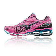 Mizuno Wave Creation 18 Womens Pink Cushioned Running Sports Shoes Trainers