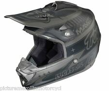 "TROY LEE DESIGNS TLD ""TEAM BLACK"" SE3 PRO OFF ROAD MOTOCROSS HELMET SIZE M L XL"