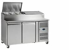 Tefcold SS7200 Refrigerated Prep Counter
