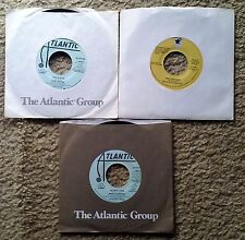 """TONY BANKS / MIKE RUTHERFORD - Lot Of 3 Near Mint 7"""" 45s -- Genesis"""