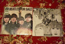 """Two Vintage Beatles Albums """"Revolver"""", French Import & """"Beatles For Sale"""" German"""