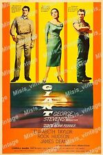 Giant 1956 Vintage Movie Poster Reprint 2