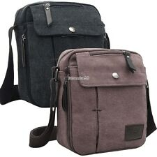Mens Vintage Canvas Shoulder Messenger Travel Hiking Bag Satchel new 26yi FT