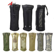Tactical 1000D Mesh Style Big Molle Water Bottle Pouch Bag Carrier Hydration Bag
