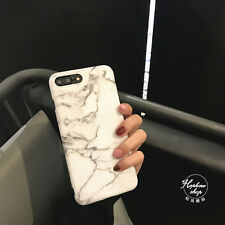 Trendy Marble Cracked Soft Silicone Phone Case Cover For iPhone 7 7Plus 6 6SPlus