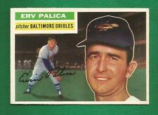 1956 Topps #206 Erv Palica (GB) Baltimore Orioles Near Mint NRMT NM Crease Free