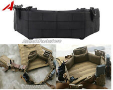 EMERSON Tactical MOLLE PALS Waist Belt Military Airsoft Padded Patrol Belt Black