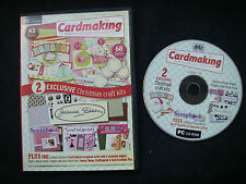 Complete Cardmaking Card CD Issue 19  2 Christmas Craft Kits + JOANNA SHEEN EC