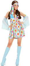 70er Jahre Hippie Costume Manu For Women NEW - Ladies Carnival Panel