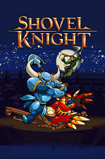 RGC Huge Poster - Shovel Knight PS4 XBOX ONE Nintendo Wii U 3DS - EXT681
