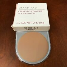 1 Mary Kay Cream Creme to Powder Foundation, D shaped, CHOOSE