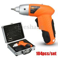 104in1 4.8V Electric Cordless Rechargeable Lightweight Screwdriver Drill Carry