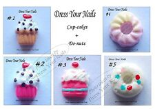 Cakes Cupcake Do-nuts 3D Nail Art Mobile/Crafts/Card Making Kawaai Cabochon