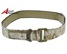 Tactical Military Survival Emergency Belt CQB Rigger Rescue Nylon Duty Belt
