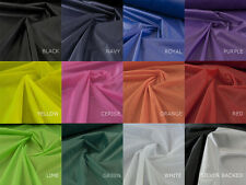 2oz Ripstop Waterproof nylon Lightweight kite fabric from 12 colours - 10 Mts -E