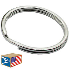 1000 LOT HEAVY DUTY SPLIT KEY RING 12mm/16mm/19mm/24mm/28mm/30mm/32mm/38mm/43mm