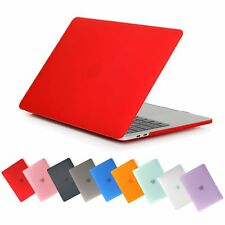 For Macbook Pro Air 12 13 15 Rubberized Hard Case + Keyboard Skin Frosted Cover