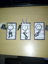 Musical Note Key Ring Wedding Favours/ Guest gifts /Christmas/Birthday gifts