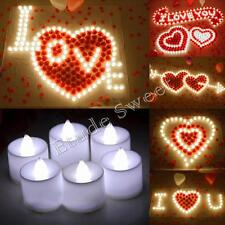3 Colors LED Flameless Candle Flickering Tea Lights Battery Operated Night Light