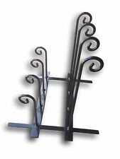 Wrought Iron Welly Wellie Wellington Boot Rack Stand Storage - 4/6/8 Pairs