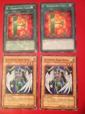 Yu-Gi-Oh! Pick From 46 Elemental Hero Cards - Read Details