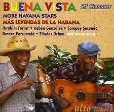 BUENA VISTA CLUB - MORE HAVANA STARS MAS LEYENDAS DE LA HABANA (NEW CD)