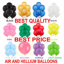 "10""-100 ALL BIRTHDAY PARTYS LATEX PLAIN BALLOONS HIGH QUALITY BALOON ANNIVERSARY"