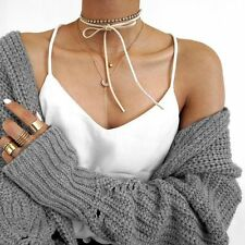Wool Double Layer Coin Collar Necklace Handmade vogue Vintage Wholesale