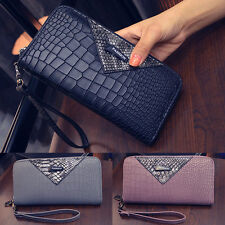 Fashion Womens Elegant Zipper Coin Card Long Wallet Clutch Purse Handbag Bag Hot