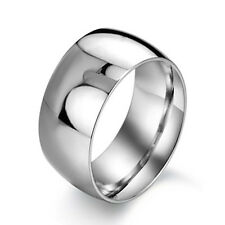mens fashion antique stainless steel band ring big wholesale size 8 9 10 11 12
