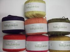 5 x 50g Sirdar Snuggly Baby Bamboo Double Knit Wool/Yarn for Knitting/Crochet