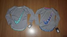 Nike Young Girls' Dri‑FIT Printed Curved High‑Low Tee*, MSRP  $38.00