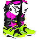 ALPINESTARS TECH 10 MOTOCROSS ATV DIRTBIKE MX BOOTS RADIANT PINK MENS SIZE