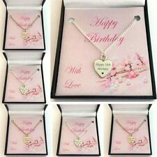 Birthday Gift Necklace for a Special Birthday, 13th, 16th, 18th, 21st, 30th,40th