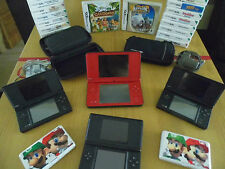 Ninendo DSi XL, DSi, DS Lite Console + 5 Game Bundle (see listing description)
