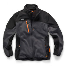 Scruffs Trade Tech Softshell Workers Jacket Charcoal - Choose Your Size
